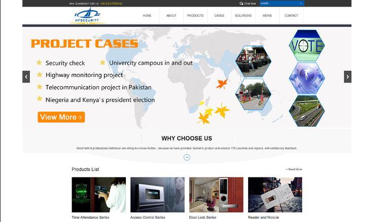 双语网站制作案例